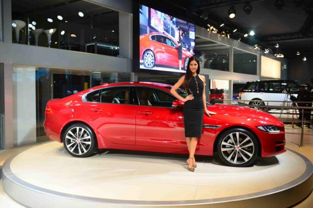 Jaguar XE_Auto Expo 2016_1