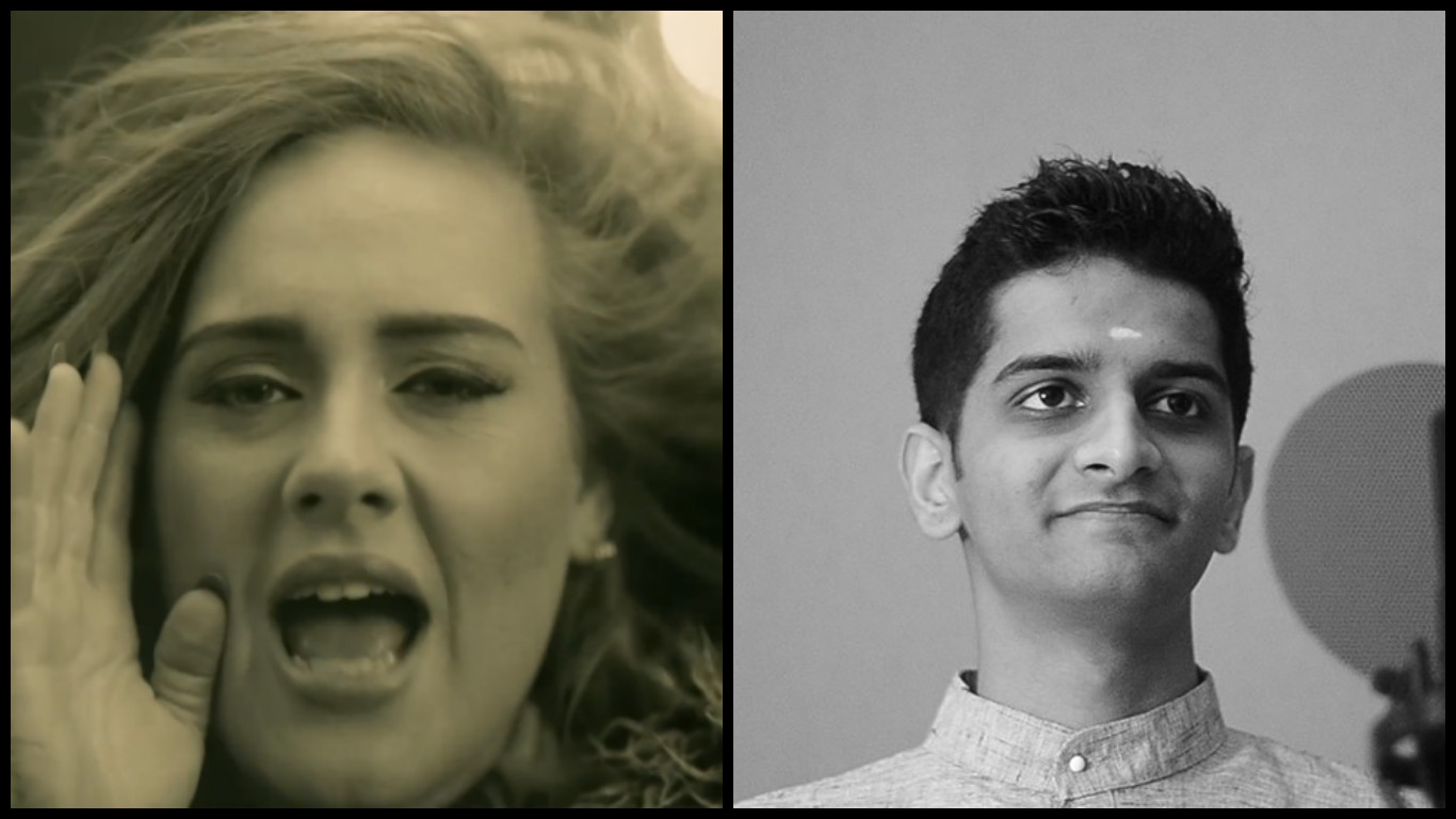 Adele's 'Hello' gets a Carnatic makeover!