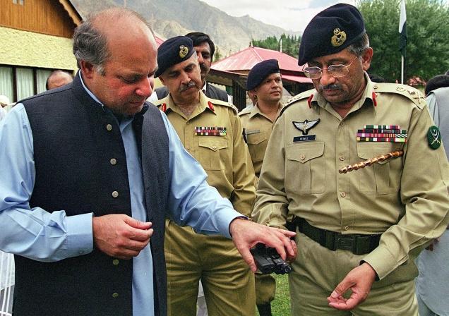 Kargil war, Pakistan, Pervez Musharraf, India, Atal Behari Vajpayee,