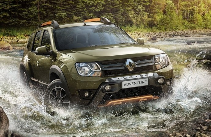 the much awaited renault duster 39 adventure edition 39 launched at rs lakh newsmobile. Black Bedroom Furniture Sets. Home Design Ideas