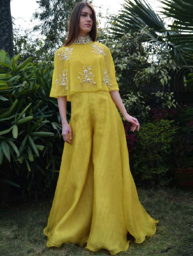 yellow-indo-fusion-wear