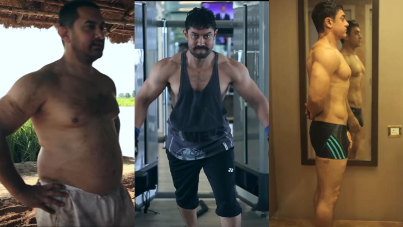 Perfectionist, Aamir Khan, Dangal, fat, body, transformation, gyming