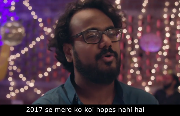 New Year, AIB, video, song, 2017, 2016, drink and drive