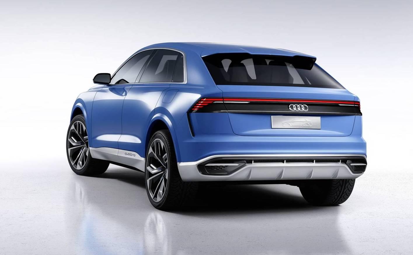 2017 Detroit Auto Show, Audi, Q8, NAIAS,