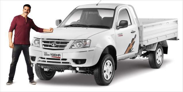 Ravi Pisharody, Akshay Kumar,, Tata Motors, Tata Xenon Yodha,