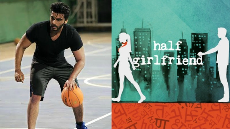 Shraddha Kapoor and Arjun Kapoo, Chetan Bhagat's book 'Half Girlfriend'., 'Half Girlfriend'