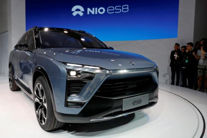 Chinese electric vehicle start-up Nio, NextEV, Chinese auto market,Silicon Valley