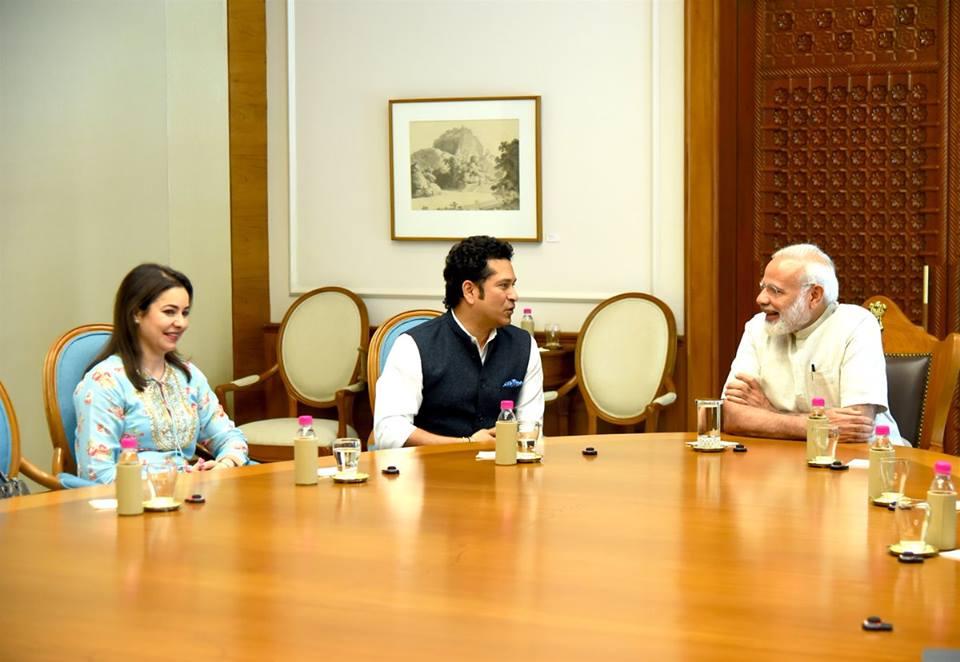 Sachin Tendulkar, 'Sachin: A Billion Dreams', Narendra Modi