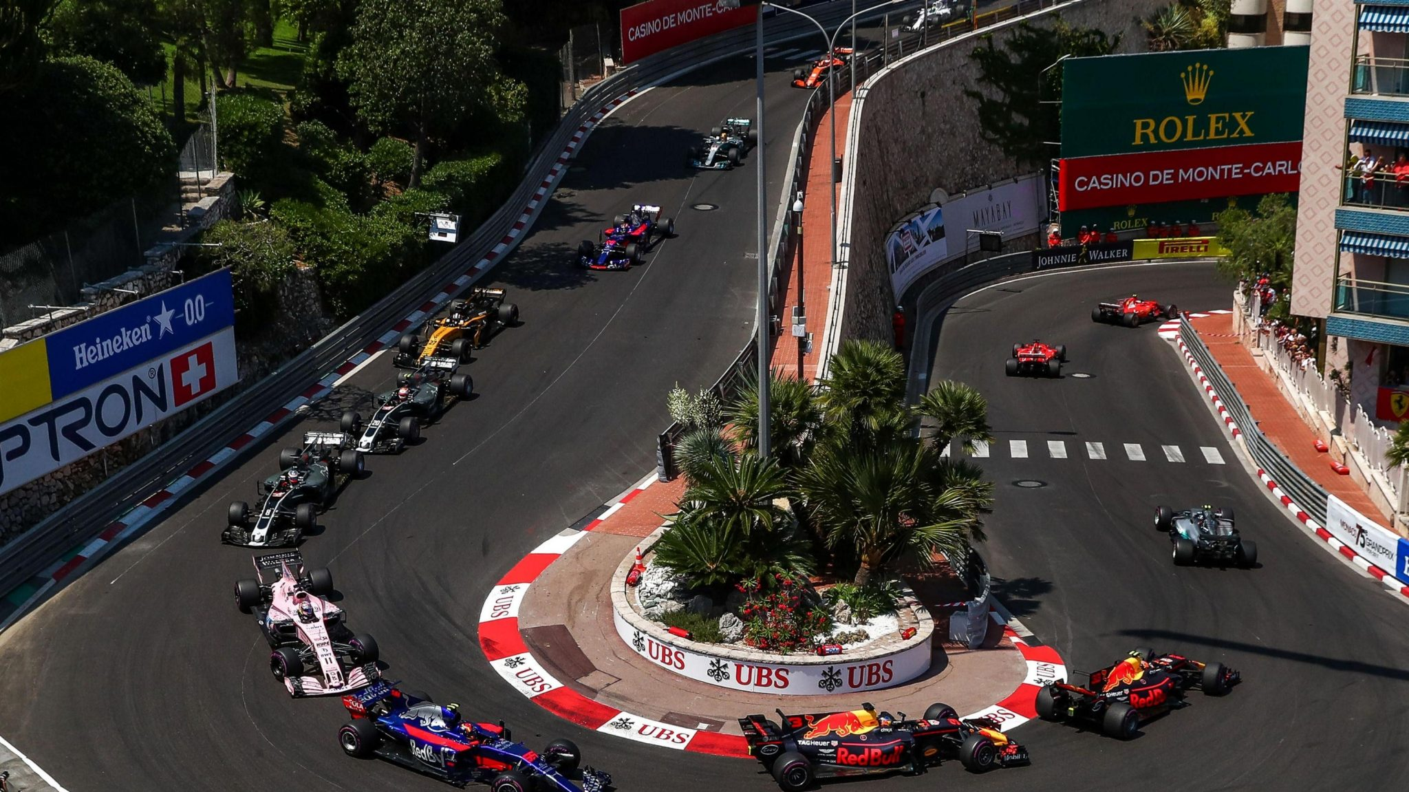 F1 on the streets of Monaco