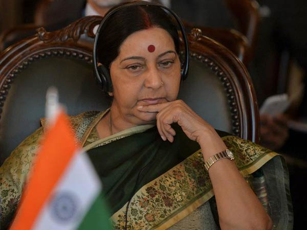 Sushma Swaraj Speaks to Kulbhushan Jadhav's mother