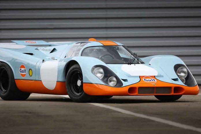 Steve McQueen, Gooding & Company Pebble Beach auction, 1970 Porsche 917