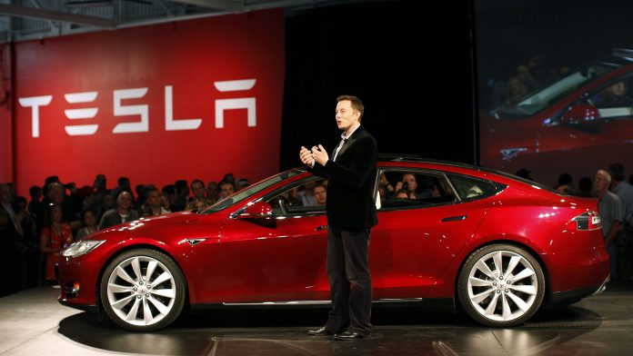 Tesla, music streaming services, Spotify, Apple Music