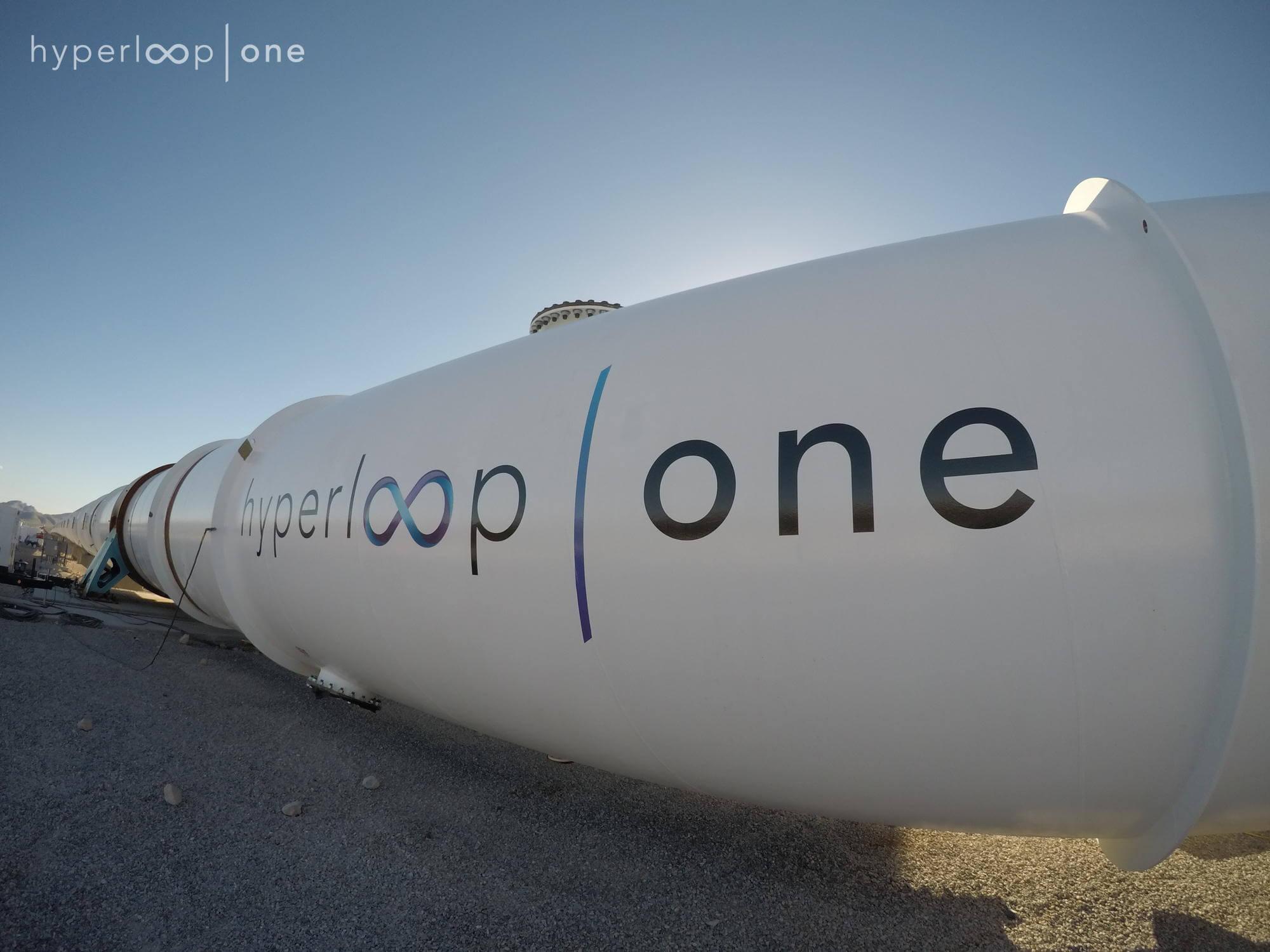 Hyperloop, test, Hyperloop one