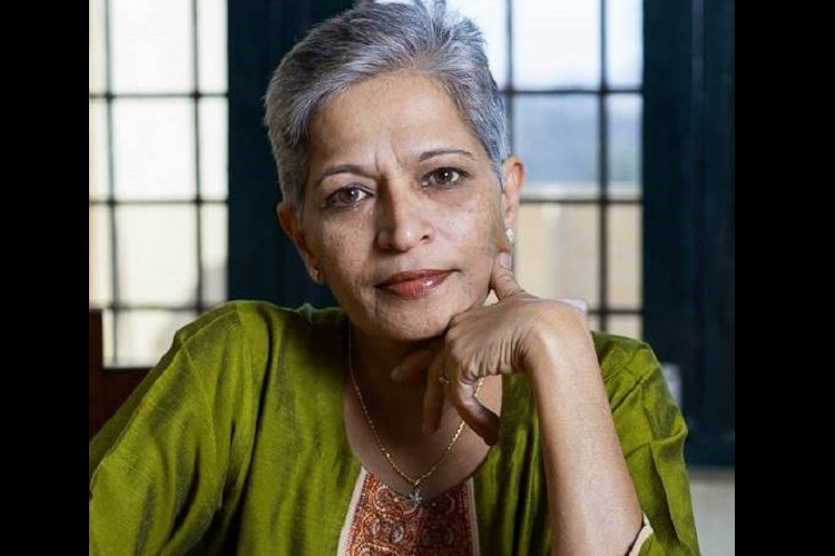 Gauri Lankesh is the First Indian Journalist to win Anna Politkovskaya Award
