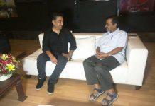 Kamal Haasan, politics, Delhi Chief Minister, Arvind Kejriwal, Delhi, Chief Minister, Chennai, Tamil Nadu, NewsMobile, Mobile News, India