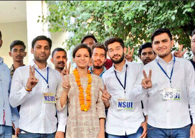 DUSU Elections 2017,NSUI, DU student union posts, student union posts, Delhi University, DUSU, NewsMobile, Mobile News, India