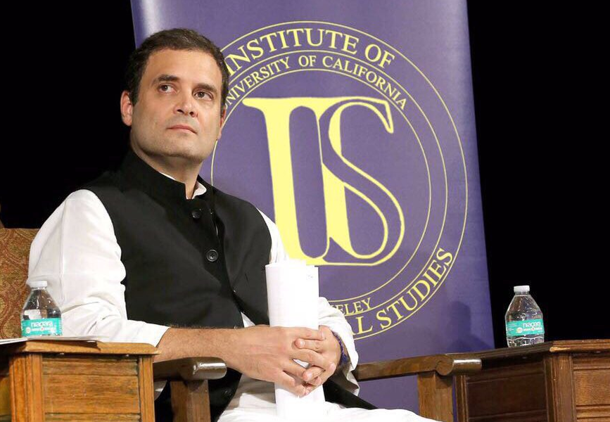 Rahul Gandhi, government, address, University of California, UC Berkeley, Berkeley, Prime Minister, Narendra Modi, BJP, Modi Government, GST, Demonetisation, NewsMobile, Mobile News, India