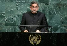 India, knockout punch, Pakistan, UNGA, United Nations, terroristan, Terror, Eenam Gambhir, Prime Minister, Shahid Khaqan Abbasi, NewsMobile, Mobile News