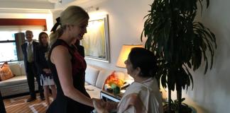 Indian, External Affairs Minister, EAM, Sushma Swaraj, United States, President, Donald Trump, daughter, Ivanka Trump, New York, NewsMobile, Mobile News