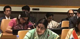 External Affairs Minister, EAM, Sushma Swaraj, Shanghai Cooperation Organisation, SCO, New York, NewsMobile, Mobile News, India