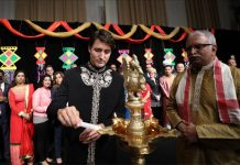 Canadian Prime Minister, Justin Trudeau, celebrate, Diwali, Indian community, India, NewsMobile, Mobile News, India