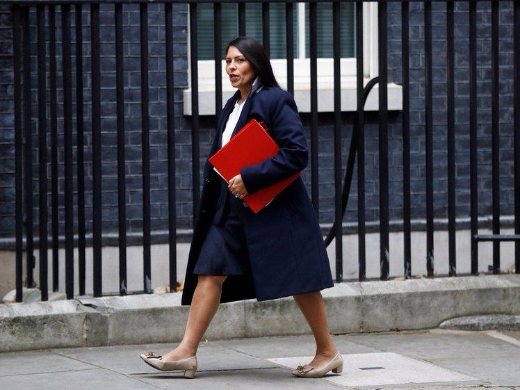 Priti Patel, saga, London, UK, Politics, Prime Minister, Theresa May. India, Indian, NewsMobile, Mobile News