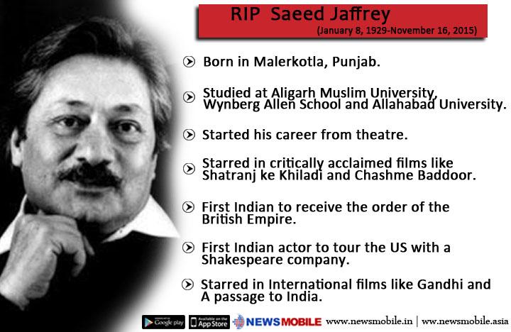 Saeed Jaffery RIP