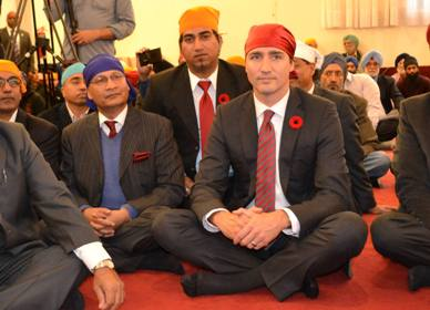 Trudeau Diwali