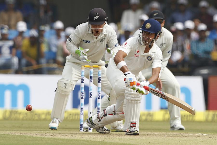 Kane Williamson, , Trent Boult , Jeetan Patel , Murali Vijay,third cricket Test,, Gautam Gambhir, New Zealand,
