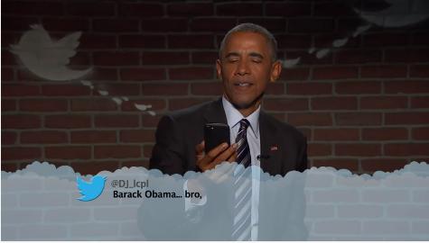 Barack Obama, Mean Tweets, Jimmy Kimmel Live,