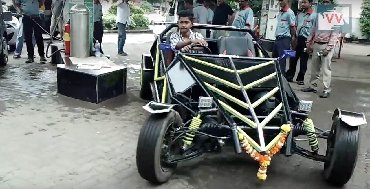Do-It-Yourself (DIY), 19-year-old, Buggy car, Prem Thakur