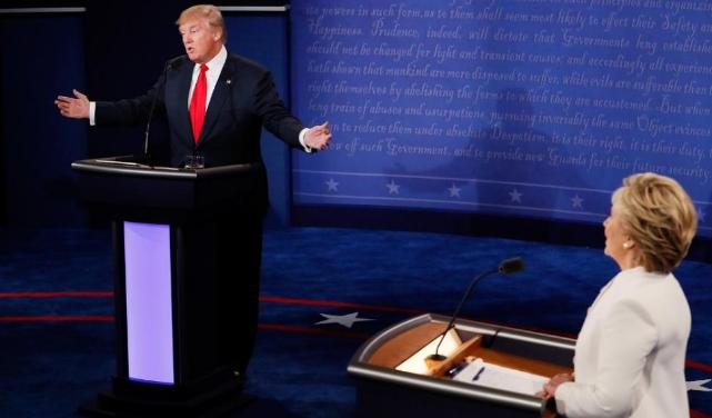 Republican, presidential nominee, Donald Trump, Democratic, Hillary Clinton, India, third presidential debate, US President, Russia, North American Free Trade Agreement (NAFTA),