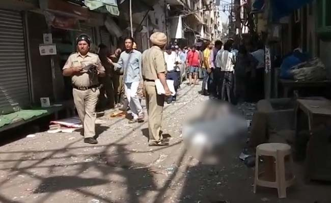 festive season, Delhi Police, explosion, Naya Bazar area,