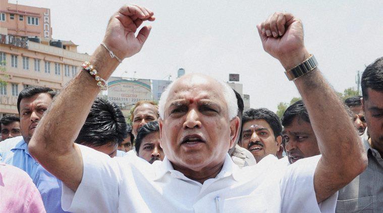 BJP chief, Satyameva Jayathe, Yeddyurappa's family, Rs 40 crore illegal mining case, acquitted , special CBI court , Karnataka, B S Yeddyurappa,