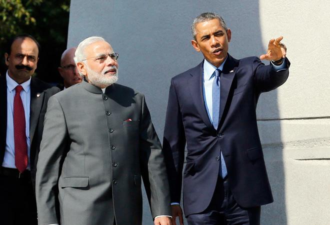US President, Barack Obama, Prime Minister, Narendra Modi, telephone, conversation, defense, civil nuclear energy, India, America, White house