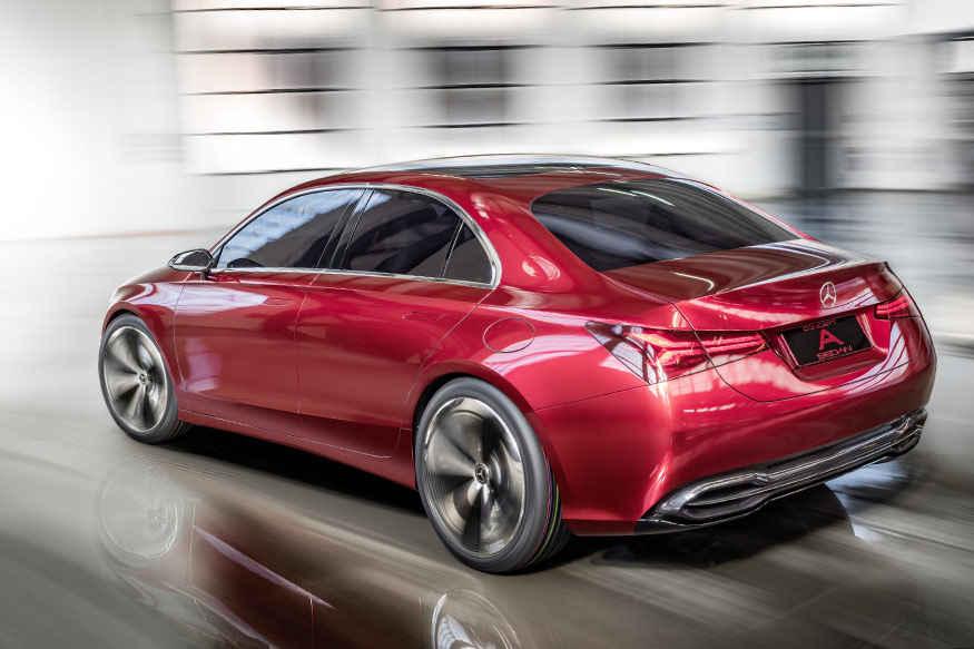 Mercedes, 2017 Auto Shanghai, Concept A, auto news, newsmobile, new car
