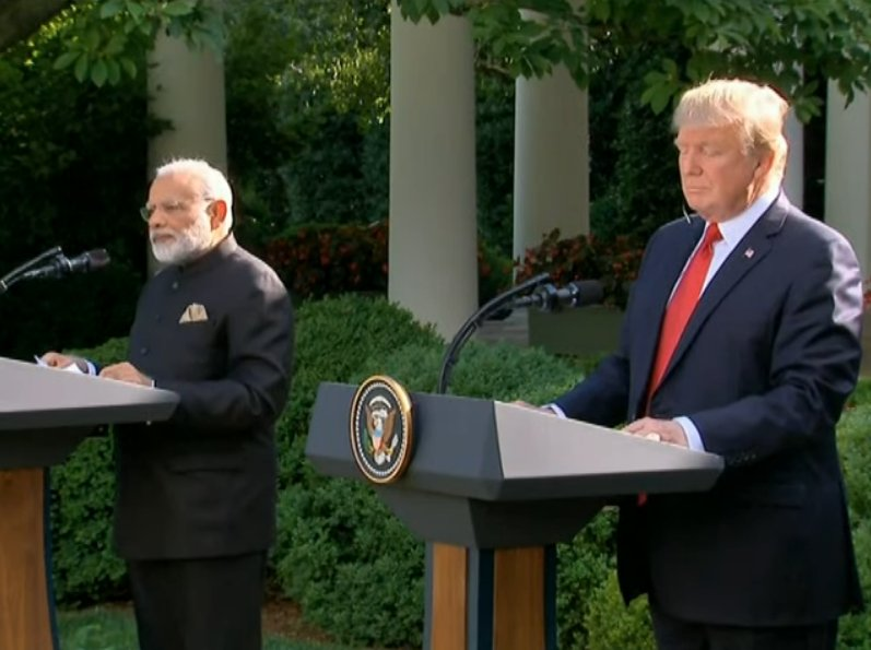 PM Modi and President Trump issue joint statement at White House