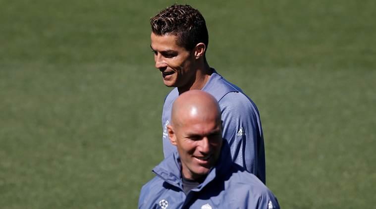 Real Madrid training - UEFA Champions League Semifinal