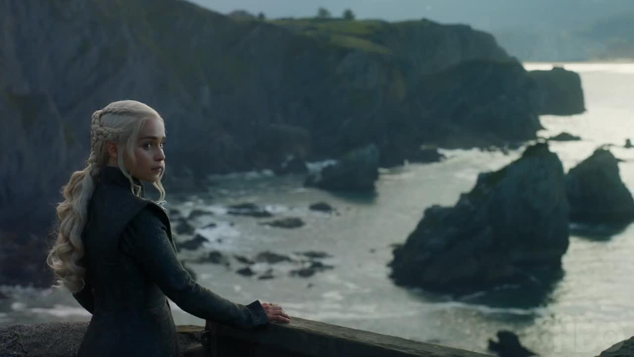 Daenerys, Cersei, The Queen's Justice, Game of thrones, season 7, Episode 3, Jon Snow, Starks