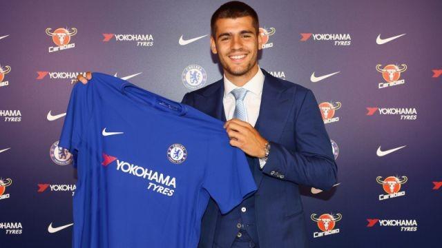 Alvaro Morata, Chelsea, five-year contract