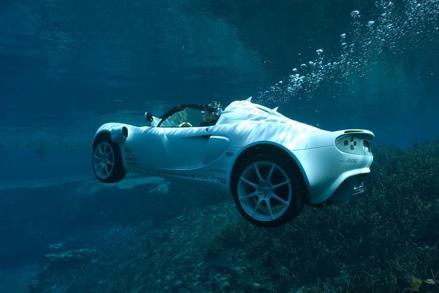 underwater car, WaterCar Panther, Gibbs Quadski, Rinspeed sQuba, Auto